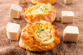 Torta di formaggio fresco — Foto Stock