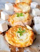 Serbian cheese pie — Stock Photo