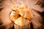 Little croissants — Stock Photo