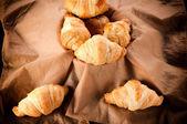 Malé croissanty — Stock fotografie