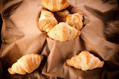 Pequenos croissants — Foto Stock