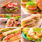 Junk food — Stock Photo