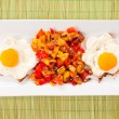 Eggs and pepper — Stock Photo #29626015