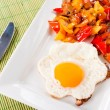 Fried egg — Stock Photo
