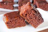 Fresh brownies — Stock Photo