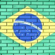 Brasilian flag — Stock Photo #29842147