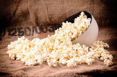 Pop corn tid — Stockfoto