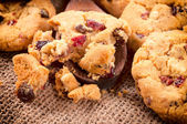 Sweet crumbles — Stock Photo