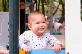 Baby smile — Stock Photo