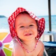 Stock Photo: Baby at beach