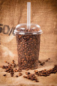 Kahve alıp — Stok fotoğraf