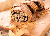 Homemade strudel — Foto Stock