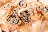 Group of strudel — Stock Photo