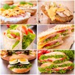 Stock Photo: Sandwiches