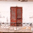 Stock Photo: Old balcony