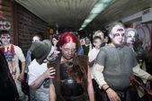 Caminata zombie — Foto de Stock