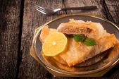 Baklava cake — Stock Photo
