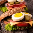 Sandwiches — Stockfoto #34633785