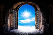 Haven's gate — Stock Photo