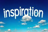 Nubes de inspiración — Foto de Stock