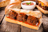 Gourment sandwich — Stock Photo