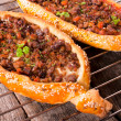 Turkish pide — Stock Photo