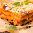 Homemade lasagna — Stock Photo