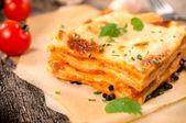 Traditional lasagna — Stock Photo