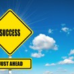 Success just ahead — Stock Photo