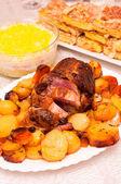 肉とジャガイモ — ストック写真