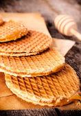 Homemade honey cookies — Stock Photo