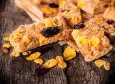 Healthy cookies — Stock Photo