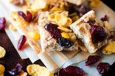 Cranberry cookie — Stock Photo