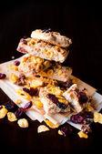 Cranberry cookies — Stock Photo