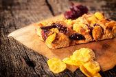 Cranberry snack — Stock Photo
