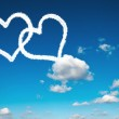 Heart clouds — Stock Photo #38432137