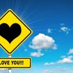 I love you — Stock Photo #38432289