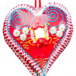 Stock Photo: Heart sweets