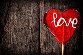 Love lolly pop — Zdjęcie stockowe