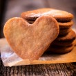 Heart cookies — Stock Photo