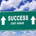 Success sign — Stock Photo #38791657