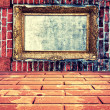 Frame in wall — Stock Photo #39020241