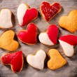 Love cookies — Stock Photo