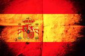 Spanish flag — Stock Photo