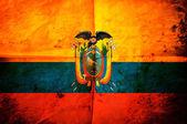 Bandera de ecuador — Foto de Stock