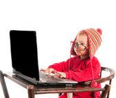 Hacker de bebê — Fotografia Stock