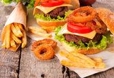 Nezdravé jídlo — Stock fotografie