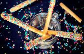 Sweet sticks — Stock Photo