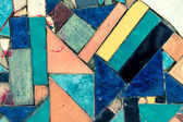 Colorful old mosaic — Stock Photo