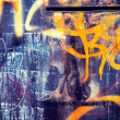 Graffity background — Stock Photo